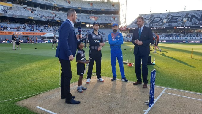 India vs New Zealand 2nd T20I toss