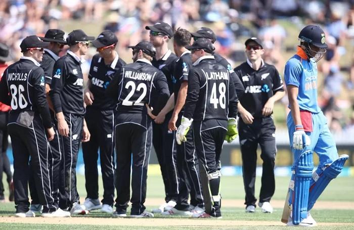 India vs New Zealand ODI series 2020