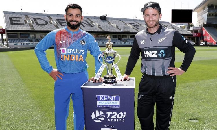 LIve Cricket Blog India vs New Zealand 1st T20I