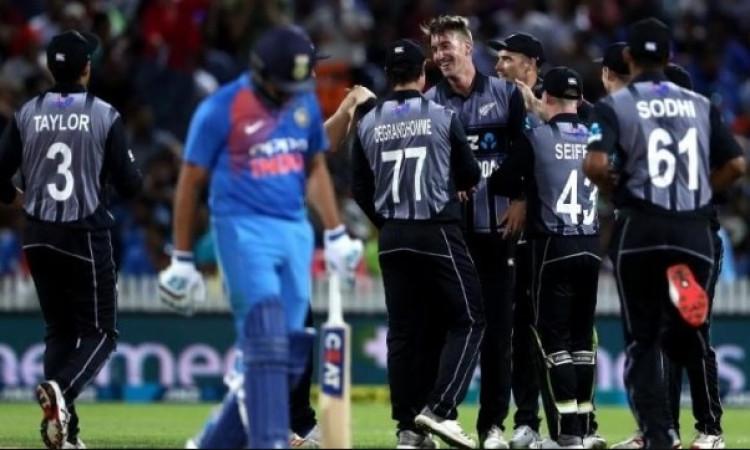 New Zealand announce squad for t20i seris vs India