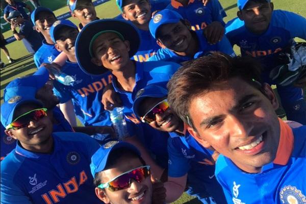अंडर-19 वर्ल्ड क : आस्ट्रेलिया को हराकर भारत पहुंचा सेमीफाइनल में, 9वीं दफा सेमीफाइनल में पहुंची टीम