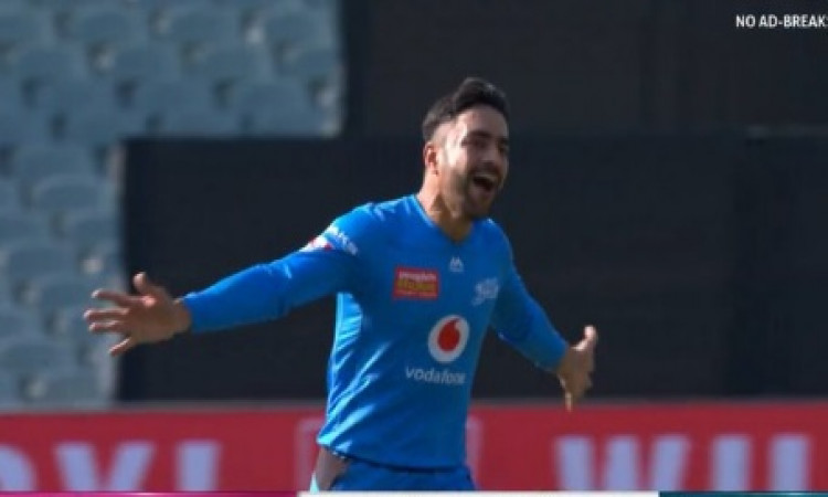 Rashid Khan scripts 3rd T20 hat-trick Images