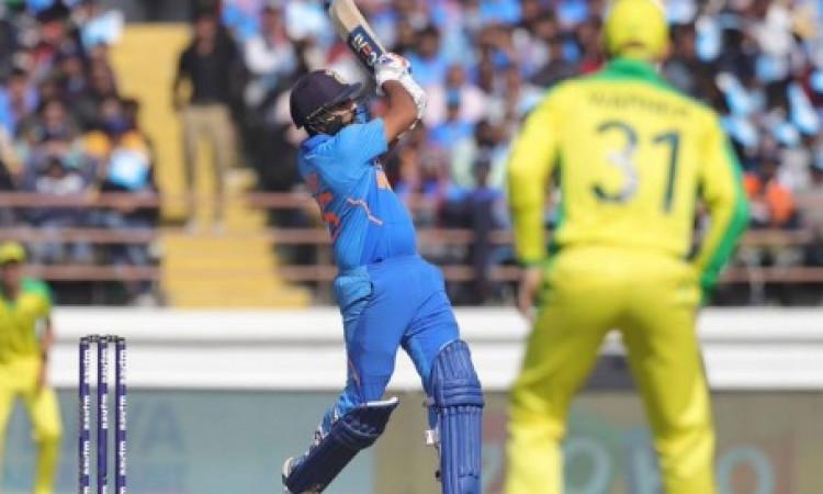 रोहित शर्मा - विराट कोहली की बेहतरीन पारी, भारत ने आखिरी वनडे में ऑस्ट्रेलिया को 7 विकेट से हराया, स