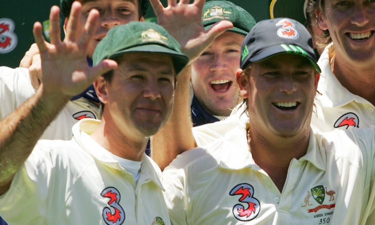 Ricky Ponting and Shane Warne