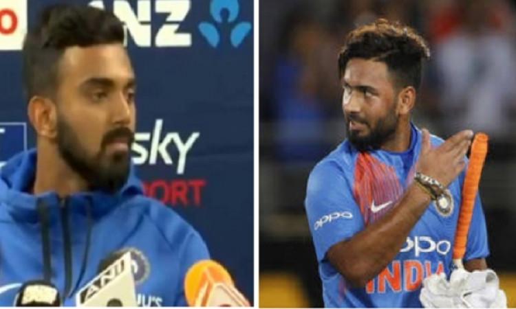पहले टी-20 में जीत के बाद केएल राहुल कहा कुछ ऐसा जिससे बढ़ गई है ऋषभ पंत की चिंता ! Images