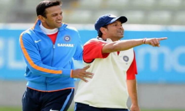 सचिन तेंदुलकर ने राहुल द्रविड़ के बर्थडे पर कहा, आप गेंदबाजों के लिए सिरदर्द थे ! Images