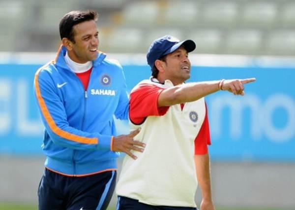 Sachin Tendulkar tells Rahul Dravid