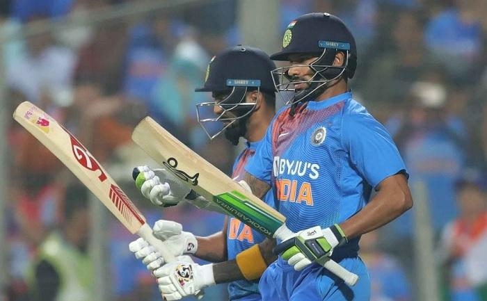 Team India Post 201/6 in third t20i vs Sri Lanka