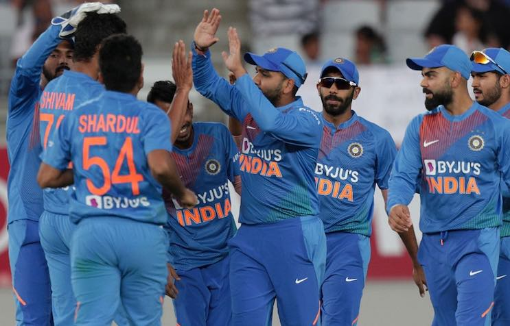 Team India (NZ V IND, First T20I) Images in Hindi