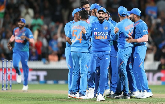 India vs New Zeland 4th t20i Match tied Super over in progress