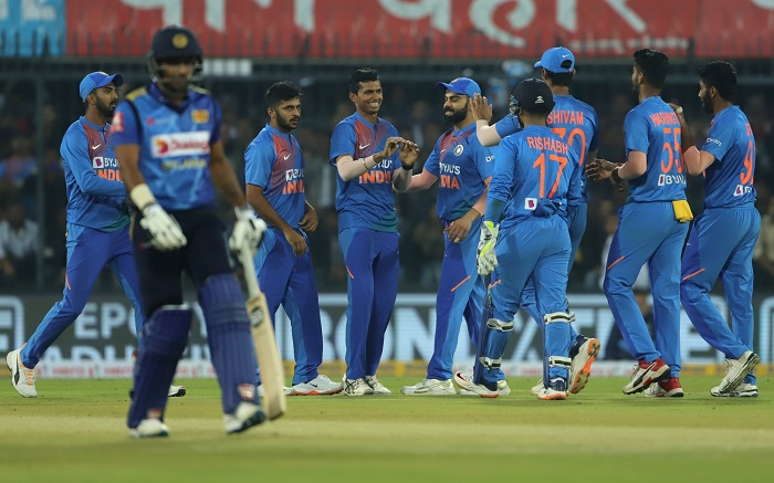 India beat Sri Lanka by 7 wickets in 2nd T20 International