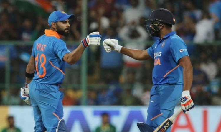 Virat Kohli and Rohit Sharma