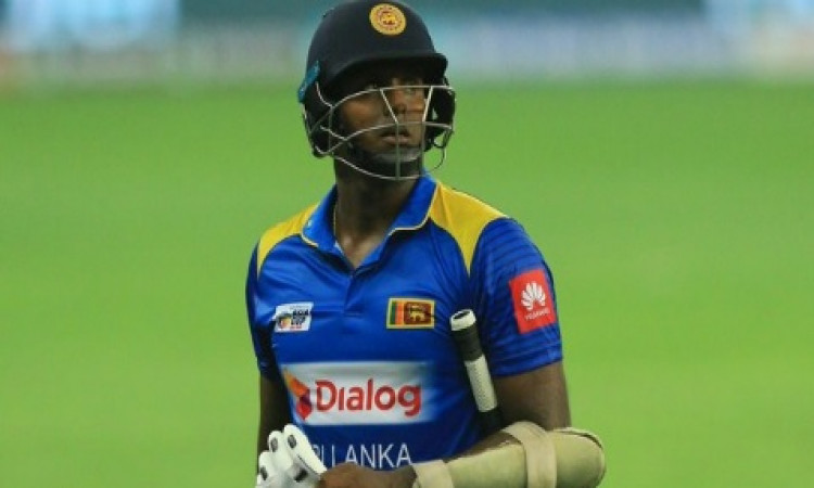 Mathews gets T20I recall, part of SL squad for India series Images