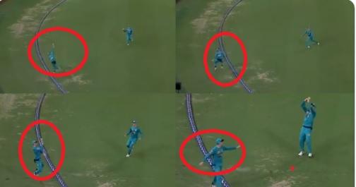 BBL में लपका गया विवाद भरा कैच, फील्डर ने सीमा रेखा के बाहर जाकर कैच को लपका, बल्लेबाज OUT हुआ Image