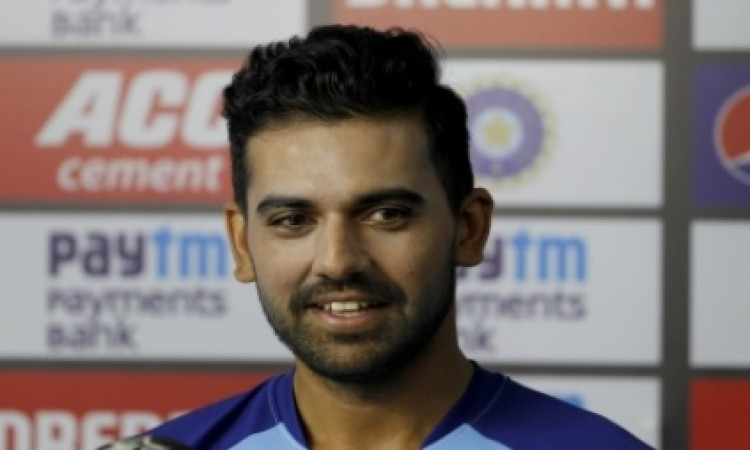 Have to be selective else I won't be able to survive: Deepak Chahar Images