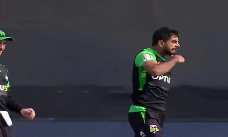 BBL: Rauf's 'slit-throat' celebration draws flak on social media Images