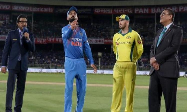 भारत बनाम ऑस्ट्रेलिया,पहला वनडे: जानिए दोनों टीमों की प्लेइंग इलेवन की पूरी लिस्ट ! Images