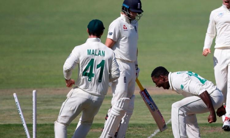 कागिसो रबाडा को जो रूट के विकेट का जश्न मनाना पड़ा महंगा, आईसीसी ने किया बैन ! Images