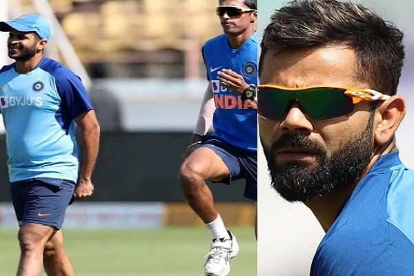 तीसरे टी-20 से पहले भारतीय प्लेइंग इलेवन में बदलाव को लेकर कोहली ने दिए ऐसे संकेत ! Images