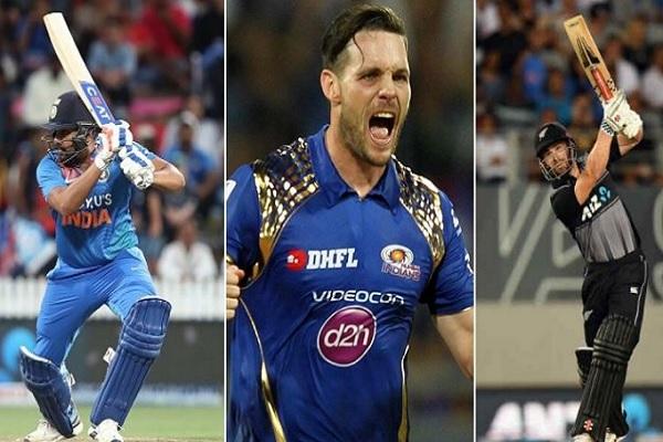 न्यूजीलैंड क्रिकेटर मिशेल मैकक्लेनाघन ने रोहित - विलियमसन में से चुन लिया अपना फेवरेट कप्तान ! Image