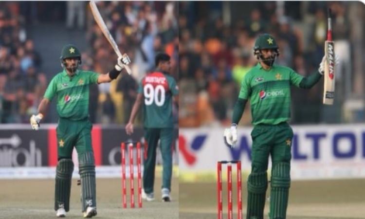 दूसरे टी-20 में भी पाकिस्तान का कमाल, 9 विकेट से हारा बांग्लादेश, सीरीज में 2- 0 की अजेय बढ़त ! Imag