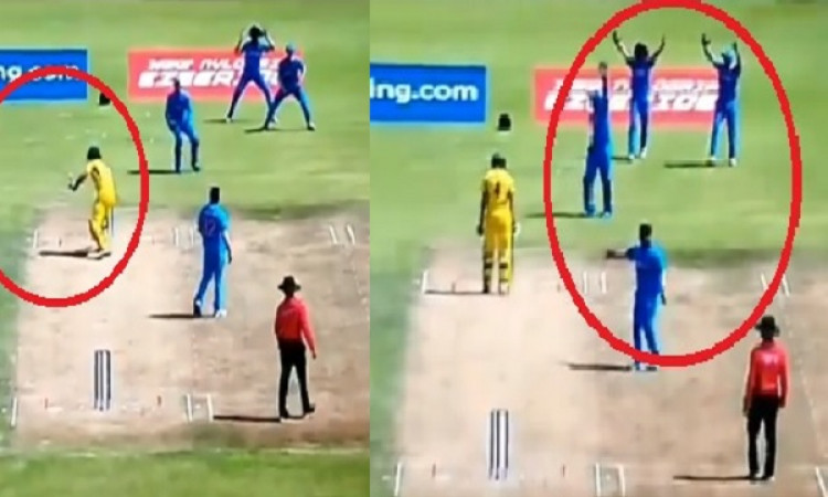 VIDEO अंडर 19 वर्ल्ड कप क्वार्टर फाइनल में भारत की जीत लेकिन इस वजह से मैच में हुई कंट्रोवर्सी Image