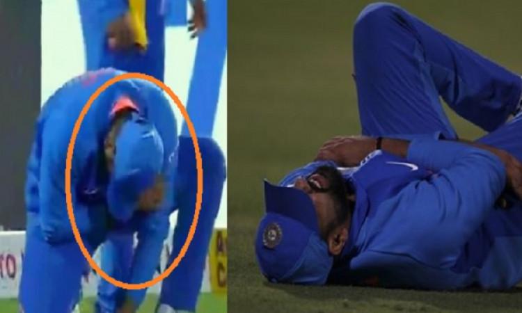 दूसरे वनडे में फील्डिंग करते वक्त रोहित शर्मा हुए चोटिल, मैदान से गए बाहर, अब आई चोट को लेकर UPDATE