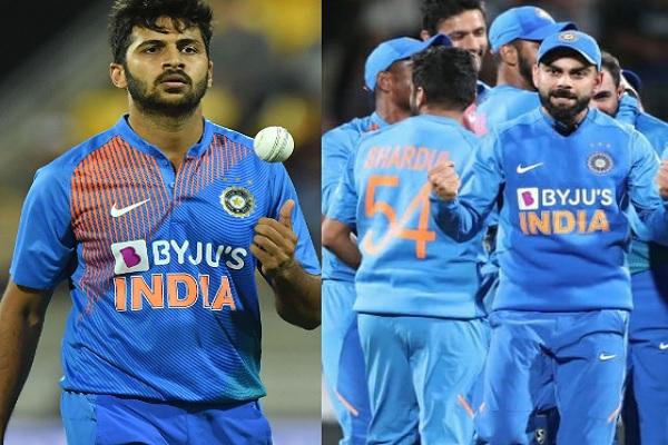 शार्दुल ठाकुर की आखिरी 6 गेंद ने रचा इतिहास, चौथा टी-20 मैच भी टाई, सुपरओवर से होगा अब फैसला ! Image
