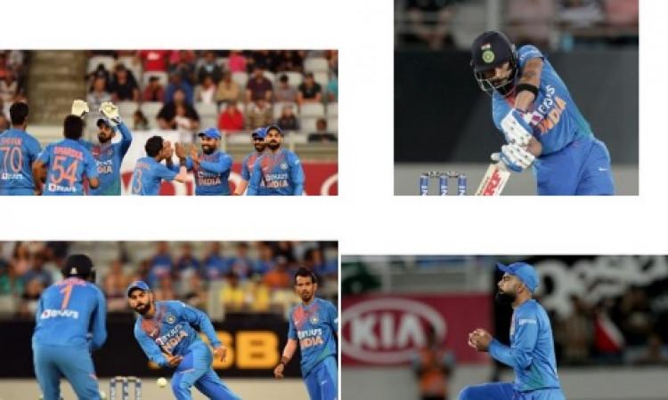 पहले टी-20 में जीत के बाद कोहली ने कहा, यह मैच कमाल का था, मजा आ गया ! Images