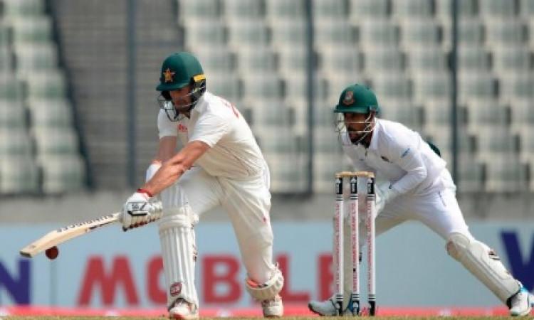 ढाका टेस्ट में कप्तान क्रैग के शतक से संभला जिम्बाब्वे, पहले दिन 228/6 ! Images