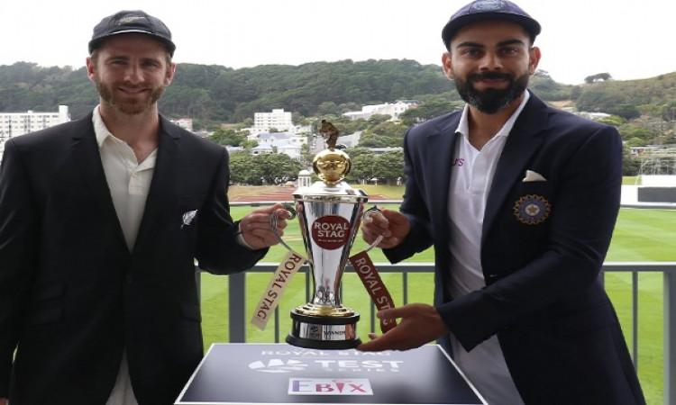 भारत बनाम न्यूजीलैंड पहला टेस्ट मैच, जानिए कब - और कहां होगा मैच का लाइव टेलीकास्ट, मौसम अपडेट ! Ima