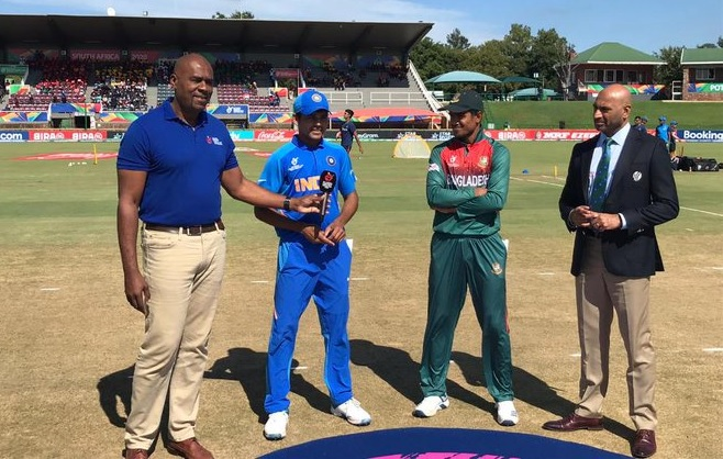 Bangladesh opt to bowl in the Icc u-19 world cup final vs India