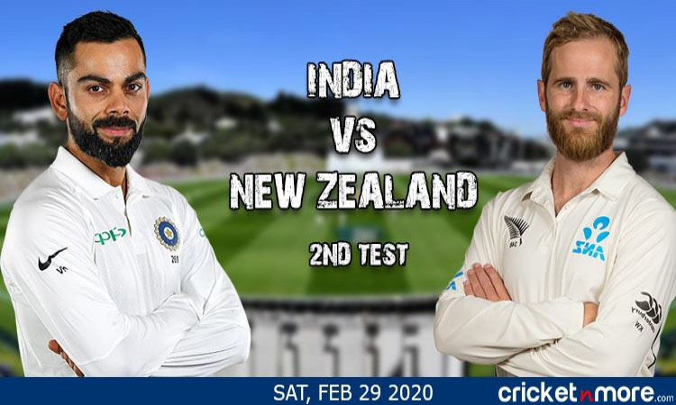 LIve Cricket Blog India vs New Zealand 2nd Test
