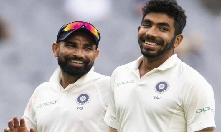 Jasprit Bumrah and Mohammed Shami
