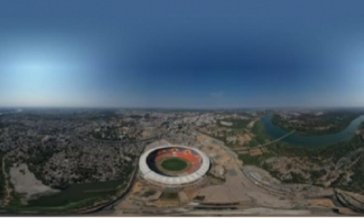 BCCI shares bird's eye view of picturesque Motera Stadium Images