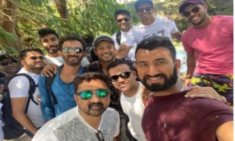 Ahead of NZ Tests, Team India visits Blue Springs in Putaruru Images