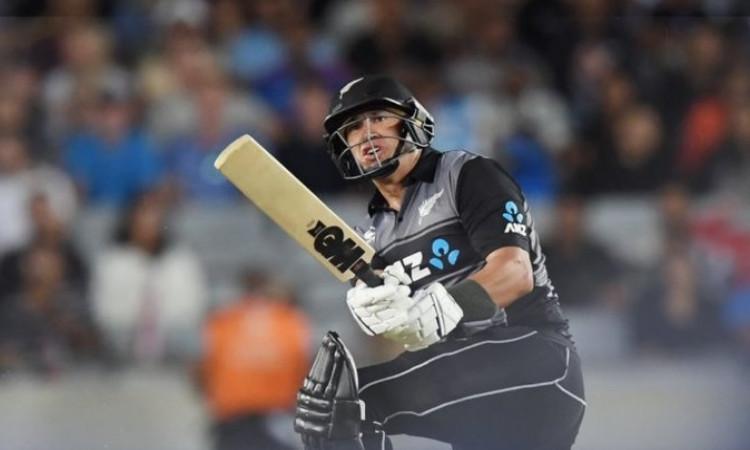 रॉस टेलर ने T20I में पूरा किया अनोखा शतक,रोहित शर्मा-शोएब मलिक के खास क्लब में हुए शामिल - Ross taylor becomes only the third player to play 100 mens t20is On Cricketnmore