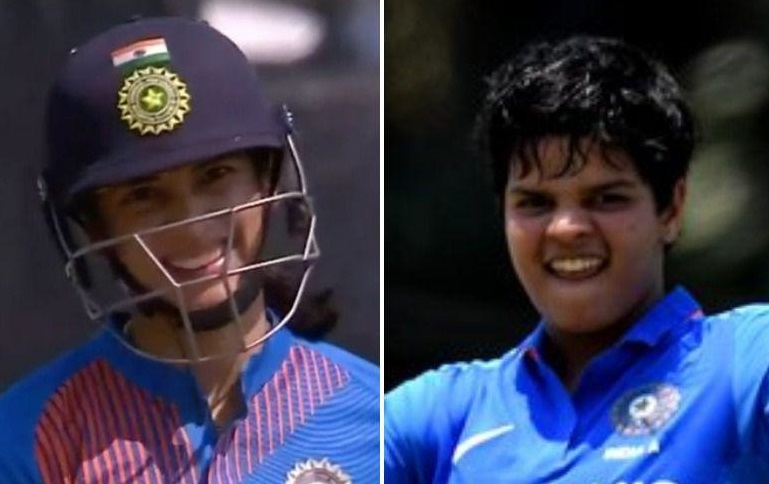 Smriti Mandhana and Shafali Verma
