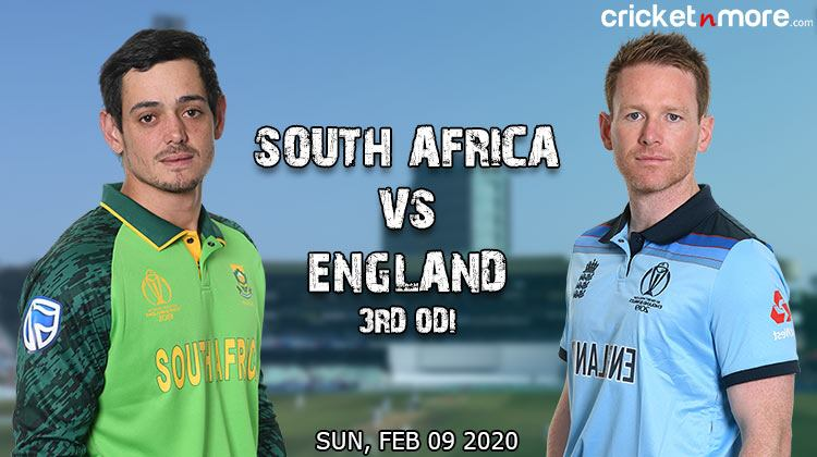 South Africa vs England third odi
