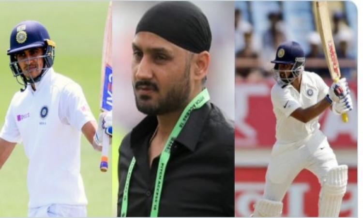 टेस्ट सीरीज से पहले हरभजन सिंह का बयान, टेस्ट में ओपनिंग इन दो बल्लेबाजों से करानी चाहिए ! Images