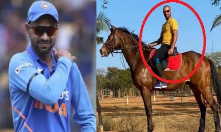 शिखर धवन ने गब्बर के अंदाज में किया वापसी का ऐलान, 'कहा कितने गेंदबाज थे' ! Images