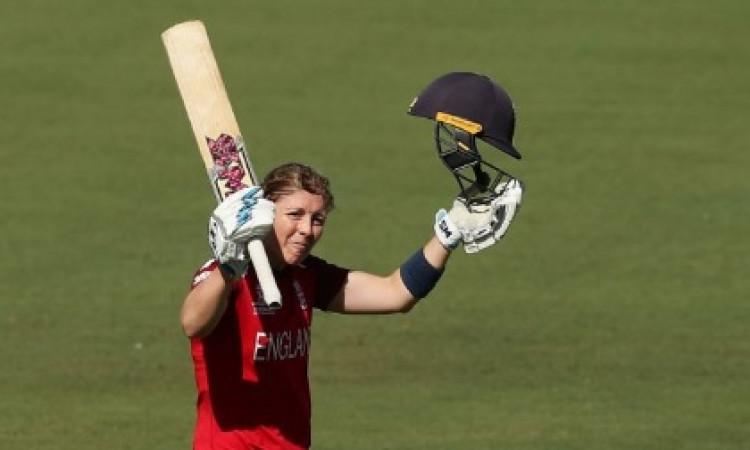 Women's T20 World Cup:  इंग्लैंड ने आयरलैंड को 98 रन से हराया, कप्तान हीटर नाइट ने खेली शतकीय पारी I