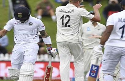 काइल जेमिसन  ने कहा, भारतीय बल्लेबाजों को इस रणनीति के तहत गेंदबाजी कर आउट करने में रहे सफल ! Images