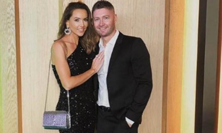 Michael Clarke, wife Kyly announce $40 million divorce Images