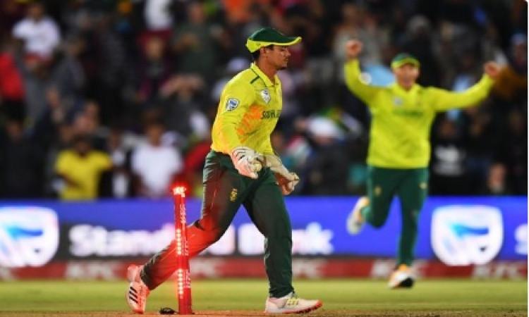 क्विंटन डीकॉक ने T20I में बतौर विकेटकीपर बनाया वर्ल्ड रिकॉर्ड, कई दिग्गज विकेटकीपरों से निकले आगे !
