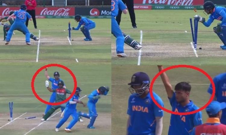 अंडर 19 क्रिकेट वर्ल्ड कप में भारत के लेग स्पिनर रवि बिश्नोई ने बनाया वर्ल्ड रिकॉर्ड ! Images