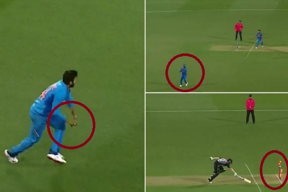 VIDEO कोहली ने कोलिन मुनरो को किया परफेक्ट अंदाज में रन आउट,  बल्लेबाज सिर पकड़कर लौटा पवेलियन ! Ima