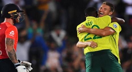 टी-20 इंटरनेशनल का रोमांचक मैच, साउथ अफ्रीका ने आखिरी गेंद पर पलटा पासा, इंग्लैंड 1 रन से हारा ! Ima