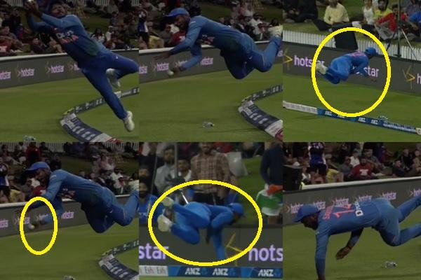 'सुपरमैन' संजू सैमसन ने हवा में उड़कर दिखाई हैरान करने वाली करतब, छक्के को बदल दिया केवल 1 रन में !