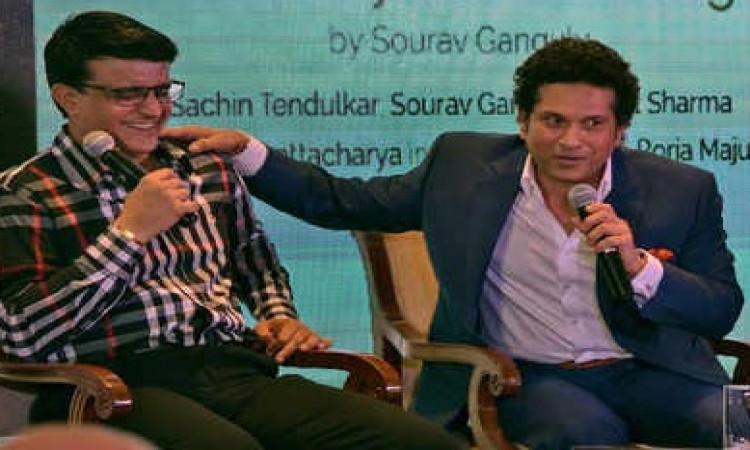 Tendulkar, Ganguly engage in light banter on social media Images